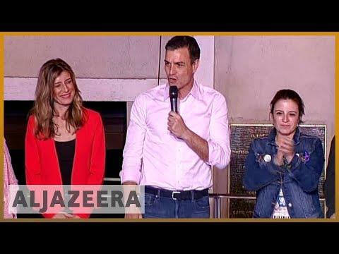 🇪🇸 Spain election: Socialists PSOE win but no clear majority | Al Jazeera English