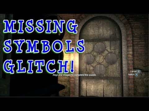 GLITCH! MISSING SYMBOLS & PICTURES -- MAGIC LANTERN Ungerground Puzzle Assassin's Creed 3 AC3