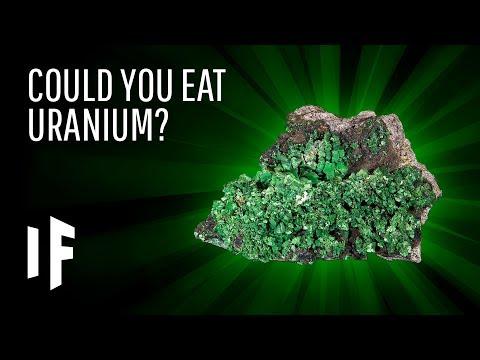 What Happens If You Eat Uranium?