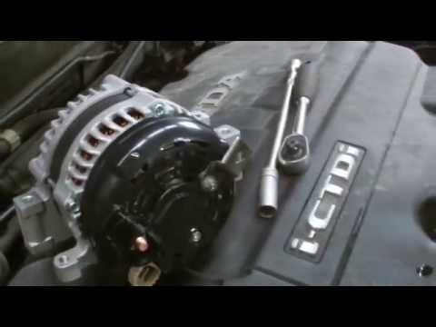 Honda Crv 2 Sel Alternator Replacment