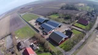 Zonnepanelen bij Goelema Landbouw te Zuidlaarderveen