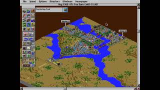 A warm stream on a VERY cold day (SimCity 2000)
