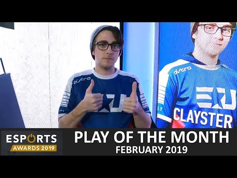 BEST PLAYS of FEB 2019 in Esports inc OVERWATCH League, CWL & R6 Invitational thumbnail