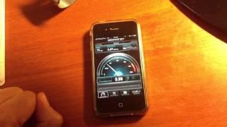 Скорость 3G интернет от Мегафон в Москве