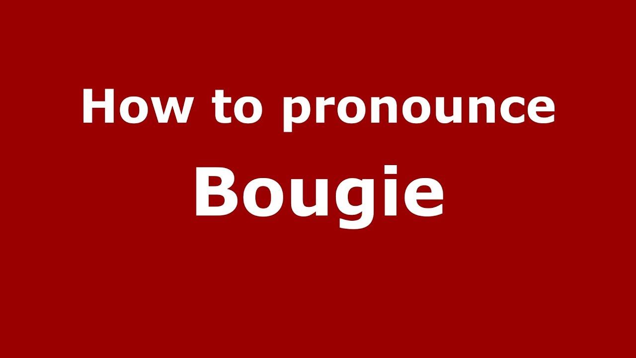 how to pronounce bougie french france pronouncenames youtube #1: maxresdefault