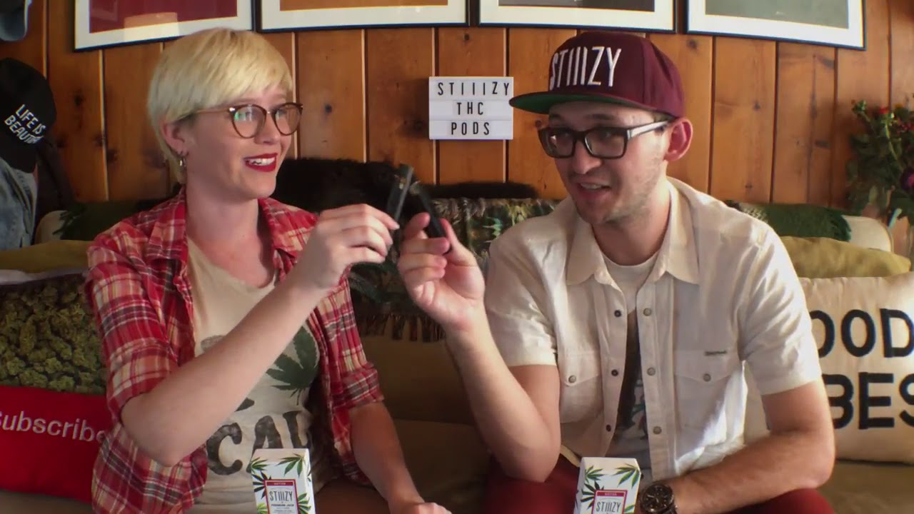 THATHIGH COUPLE - THC POD RACING with STIIIZY PENS!