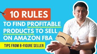 NEW Amazon FBA Product Research Strategy ⚡ 10 RULES to Find PROFITABLE Private Label Products (2019)