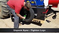 AW Dynamometer Nebraska 800 Initial Setup & Test