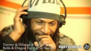 TIWONY, DIFANGA, BALIK (Danakil), DRAGON DAVY, SIR SAMUEL & FRANCKY - Freestyle at Party Time - 2012