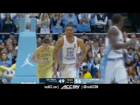 Georgia Tech vs North Carolina College Basketball Condensed Game 2018