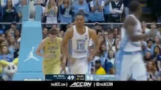 Georgia Tech vs North Carolina College Basketball Condensed Game 2018