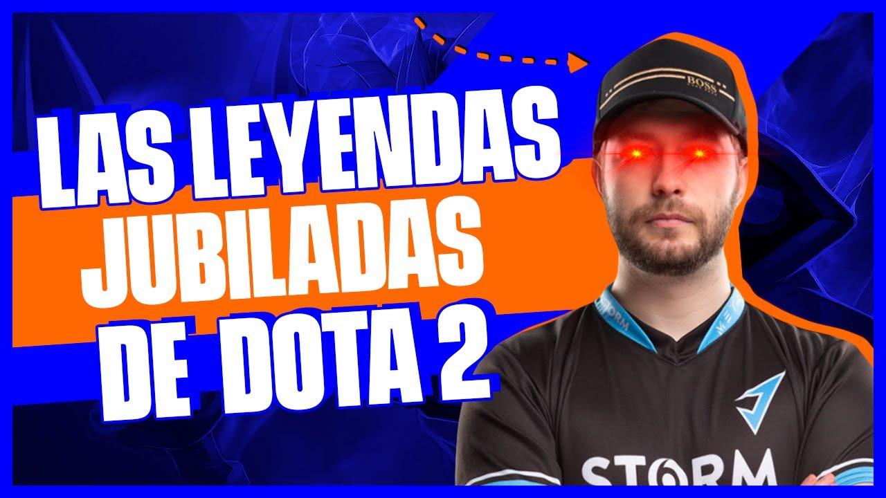 Top 5 LEYENDAS de Dota 2 JUBILADOS | Rivalry Es