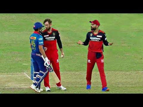 Virat Kohli Solved Rohit Sharma Glenn Maxwell Fight | Harshal Patel Hattrick | RCB vs MI IPL 2021