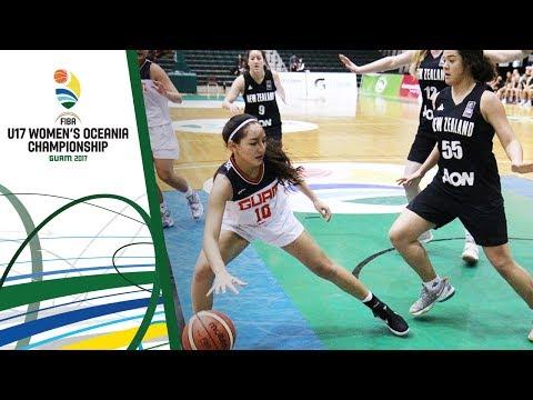 Guam v New Zealand - Full Game - FIBA U17 Women's Oceania Championship 2017
