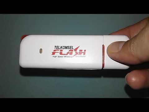 Cara Pasang Kartu SIM Pada Modem Telkomsel Flash