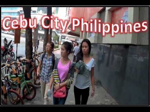 Walk around Cebu City Philippines - Thrift Store Prices, Chow King & Rain