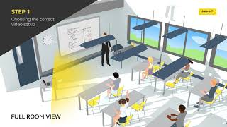 Virtual classroom setup in 3 easy steps
