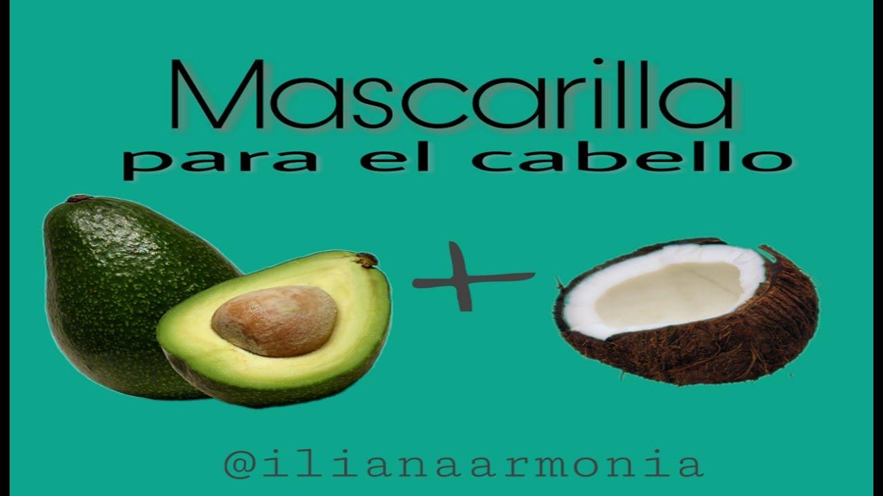 mascarillas para el pelo seco con aceite de coco