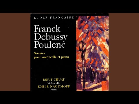 Sonate Pour Violoncelle Et Piano - II. Cavatine (Francis Poulenc)