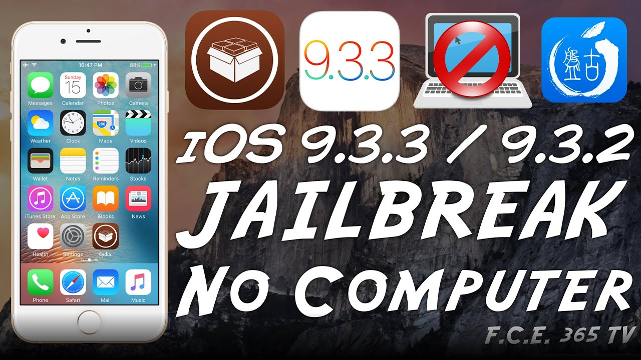 iOS 9.3.3 / iOS 9.3.2 Pangu Jailbreak WITHOUT Computer | What about