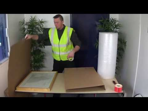 How To Pack Pictures And Mirrors - Moving...