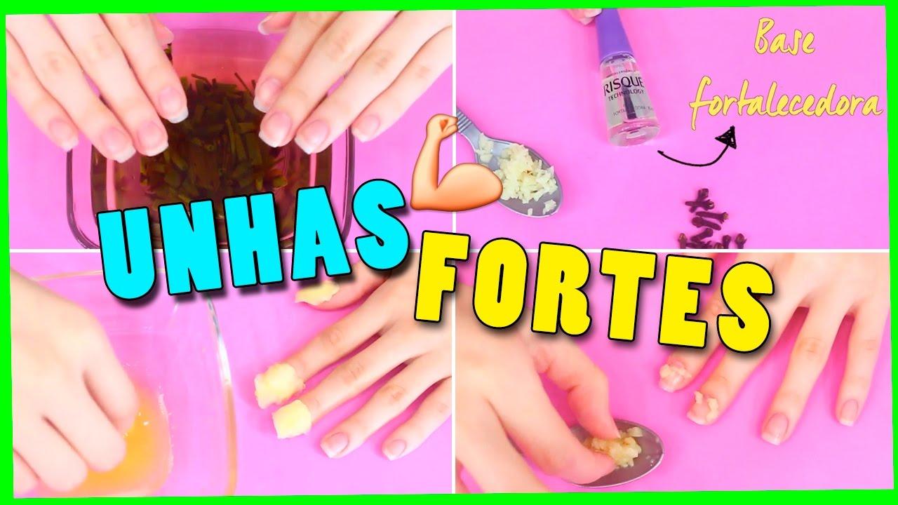 8 Receitas Caseiras Para Unhas Fortes Jana Taffarel Youtube