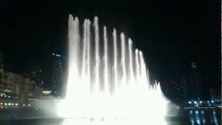Dubai Fountain -