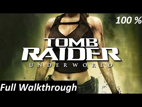 Tomb Raider Underworld Walkthrough : Complete Game 【HD】
