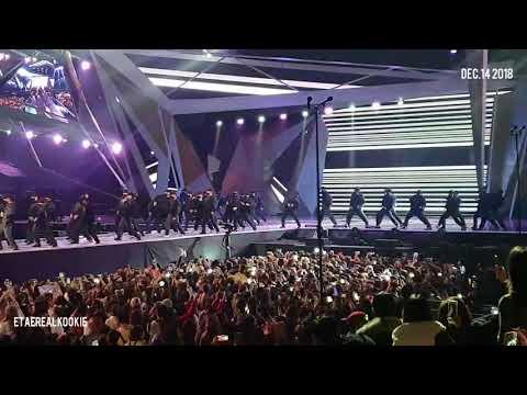 [FANCAM] 181214 MAMA In Hongkong - O!RUL8,2? + Fake Love Remix [BTS]