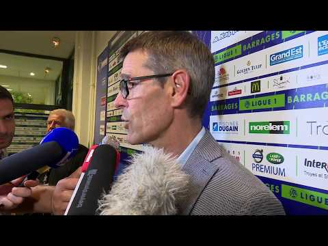 Estac-FC Lorient⎥Réaction de Jean-Louis Garcia