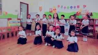BÉ TẬP ĐÁNH RĂNG - Bé Ruby Bảo An