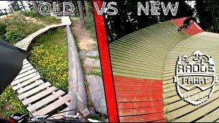 OLD vs NEW   german voiceover   Bikepark Winterberg Northshore - raddisode #3 -subtitled-