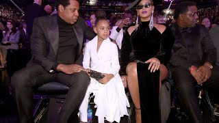 Blue Ivy Carter Shushes Her Mom Beyoncé and Dad Jay Z | The Cutest 😩