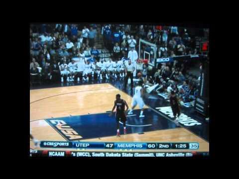 University of Memphis Tigers C-USA Tournament Highlights 2012