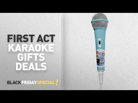 Walmart Top Black Friday First Act Karaoke Gifts Deals: First Act Disney Frozen Karaoke Microphone