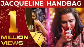 Vijay TV Jacqueline Handbag Secrets Revealed | Laughter Guaranteed | What's Inside the HANDBAG