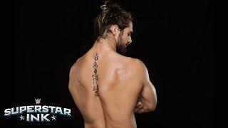 Video Seth Rollins tells the stories behind his tattoos: Superstar Ink download MP3, 3GP, MP4, WEBM, AVI, FLV Juni 2018