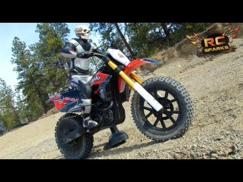 RC ADVENTURES - GHOST RIDER - 1ST Running Vid - Venom VMX 450 DIRT BIKE