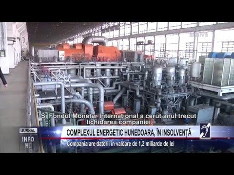 COMPLEXUL ENERGETIC HUNEDOARA, ÎN INSOLVENȚĂ
