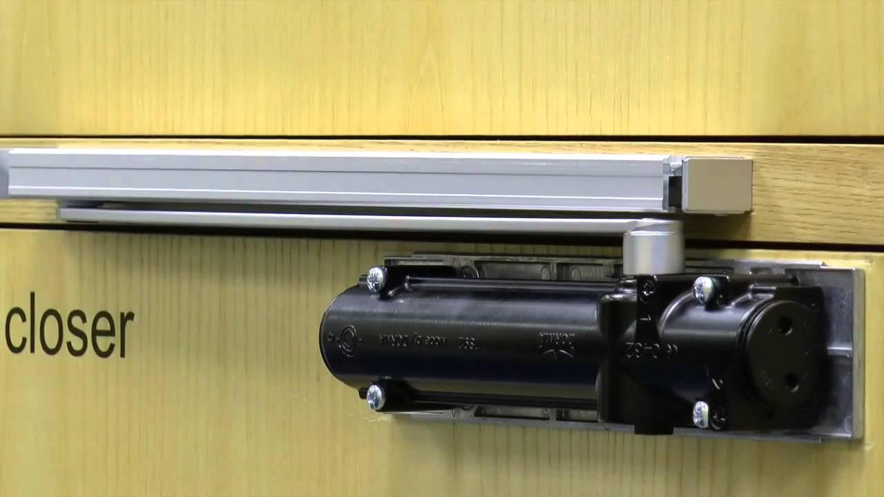 How To Install The Dorma Ts 92 Cam Action Door Closer