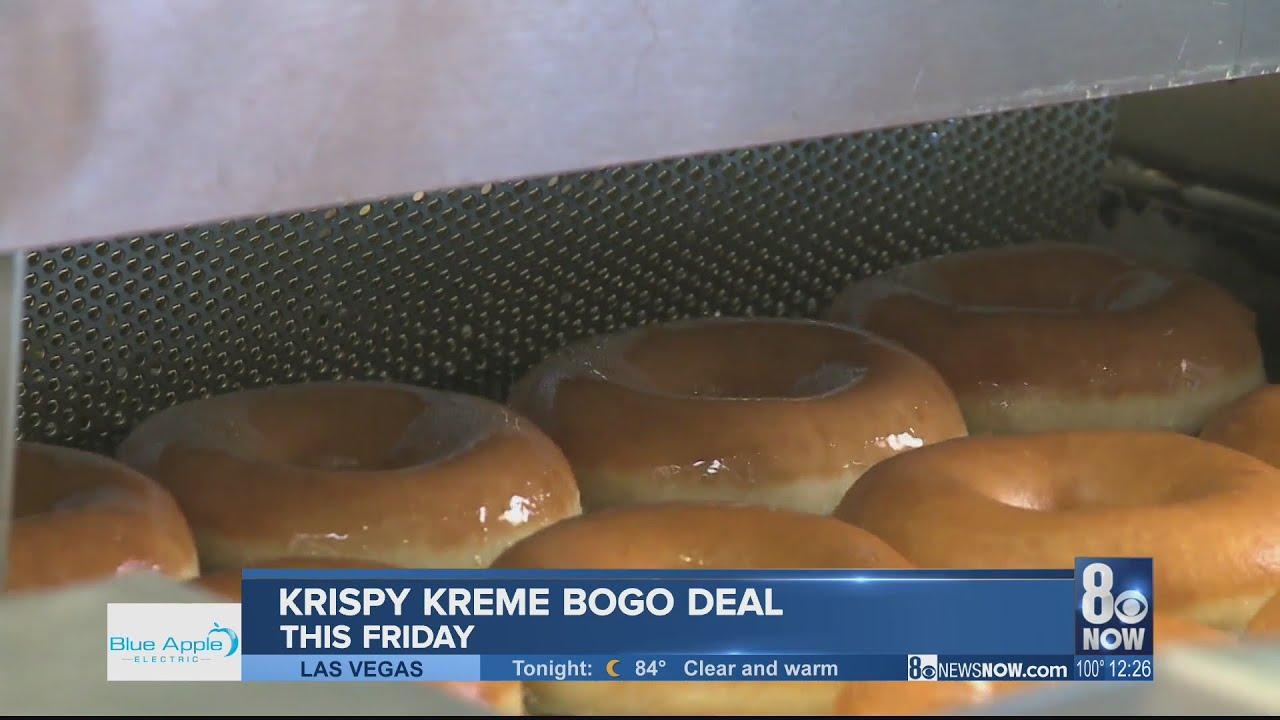 Krispy Kreme celebrating 83rd birthday with BOGO deal Friday