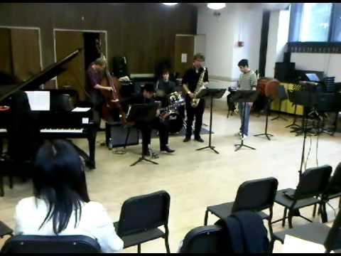 jazz concert at city college.avi