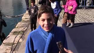Θεοφάνια 2019: Αγιασμός των υδάτων στο λιμάνι της Καλαμάτας