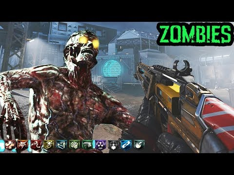 MOON 2.0 SPACE ZOMBIES MAP! (w/ BOSSES & EASTER EGG) - Black Ops 3 Custom Zombies