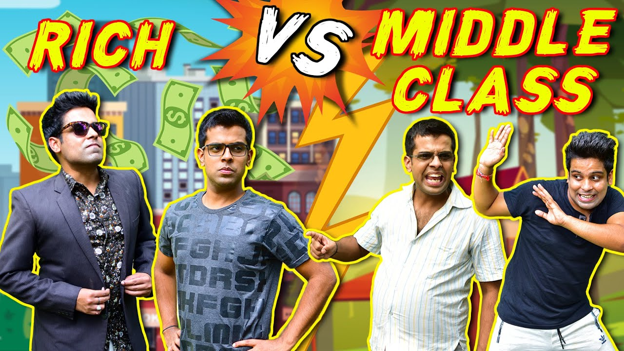 RICH vs MIDDLE CLASS | The Half-Ticket Shows