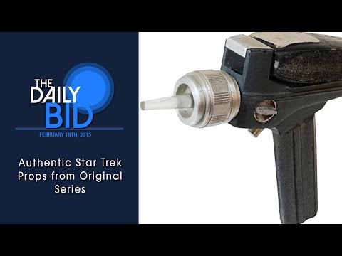 Authentic Star Trek Props from Original Series – The Daily Bid