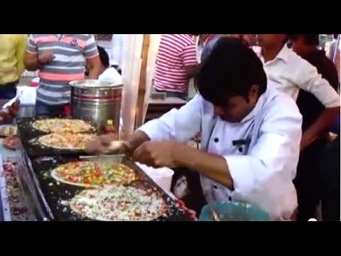 Awesome Tasty 'Pizza Dosa' | 'Tastes Of India' Food Festival, Kolkata, India | Indian Food Festivals