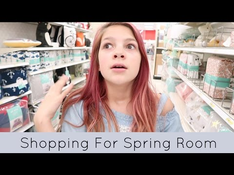 Shopping For My Spring Room Makeover | Target, Hobby Lobby & Home Depot