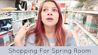 Shopping for my Spring Room Makeover | Target, Hobby Lobby & Home Depot