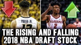 The 2018 NBA Draft Prospects With The Biggest Rise And Fall In Draft Stock | Collin Sexton Top 5?